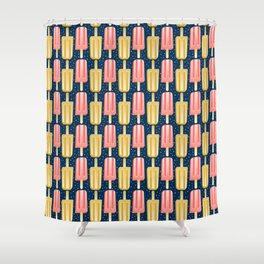 Popsicle Party Stripes Shower Curtain