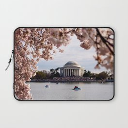 Cherry Blossoms of DC Laptop Sleeve