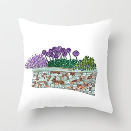 The Curb Throw Pillow