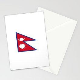 flag of nepal-nepal,buddhism,Nepali, Nepalese,india,asia,Kathmandu,Pokhara,tibet Stationery Cards