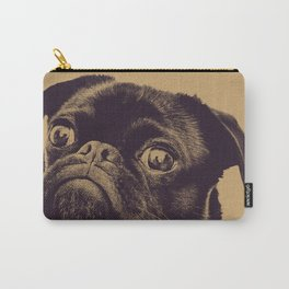 Vintage Pug Carry-All Pouch