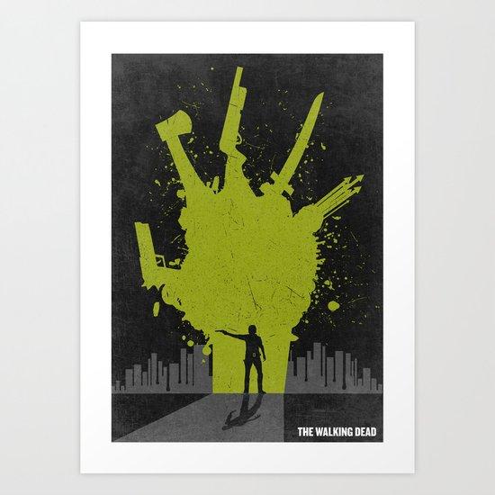 The Walking Dead Poster Art Print