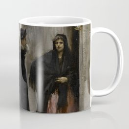 A Street in Venice by John Singer Sargent - Vintage Fine Art Oil Painting Coffee Mug