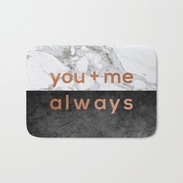 You + Me Always Bath Mat