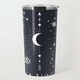 The Moon or La Lune Tarot Travel Mug