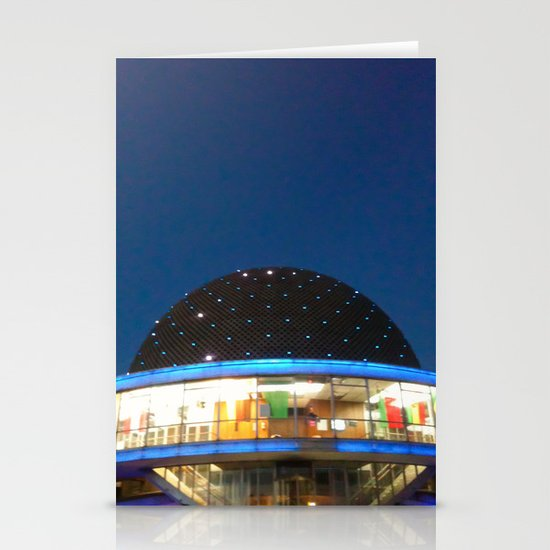 Planetario Buenos Aires Argentina Stationery Cards