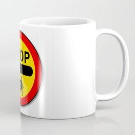 Stop Children Traffic Sign Coffee Mug
