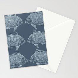 Blue Fish/es Stationery Cards