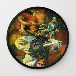All These Earths Wall Clock