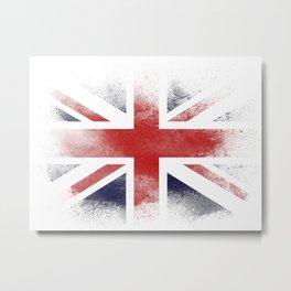 UK flag isolated Metal Print