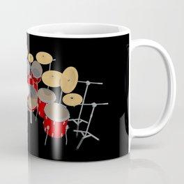 Large Drum Kit Coffee Mug