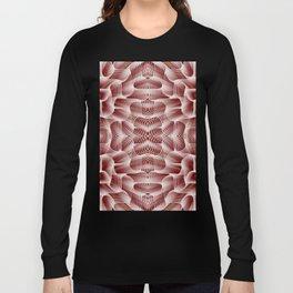 Fractal Art - Rose Long Sleeve T-shirt