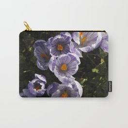 Spring Crocuses Carry-All Pouch