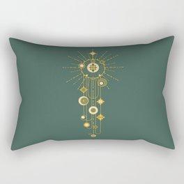 Writing on the sky Rectangular Pillow