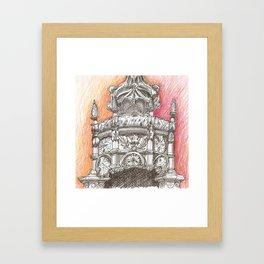 Sta Maria crown Framed Art Print