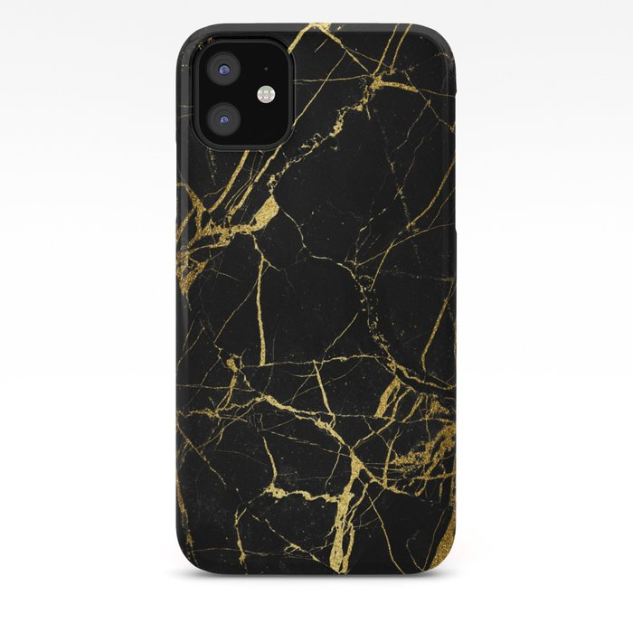 Black & Gold iPhone Case