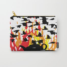 Flocking to tea Carry-All Pouch