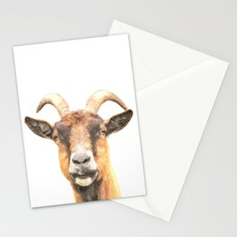 Goat Portrait Stationery Cards
