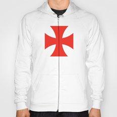 templar knights cross Hoody