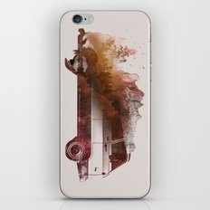 Drive me back home iPhone Skin