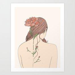 Let Me Blossom Art Print