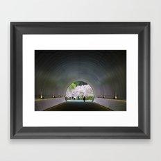 Miho Museum Sakura Framed Art Print