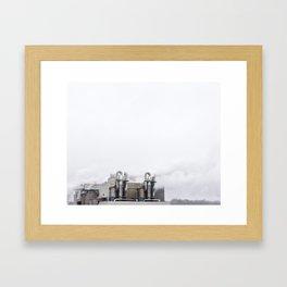 La contamination 1 Framed Art Print