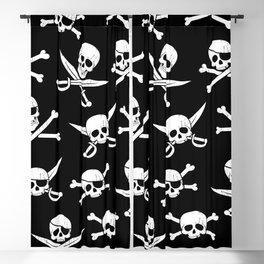 Pirateskulls Blackout Curtain
