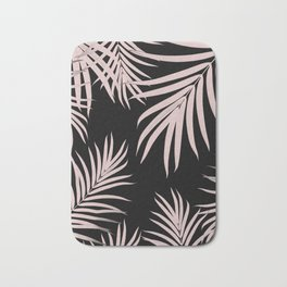 Palm Leaves Pattern Summer Vibes #5 #tropical #decor #art #society6 Bath Mat