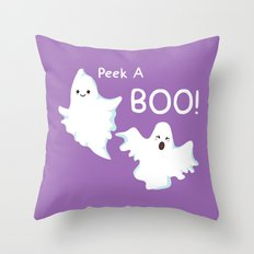 GhostBOOsters Throw Pillow