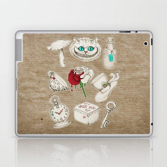 Things you'll find in Wonderland Laptop & iPad Skin