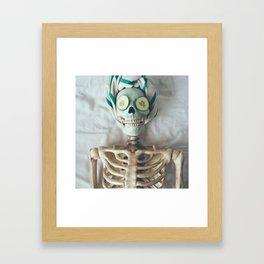 Facial Framed Art Print