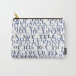 Sentences of Love Zoom Carry-All Pouch