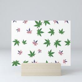 United We Smoke Mini Art Print