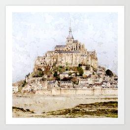 St. Michel Art Print