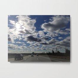 watch the sky Metal Print