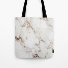 Artico marble - rose gold accents Tote Bag