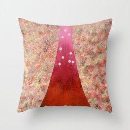 Emerging Spring 2 Throw Pillow
