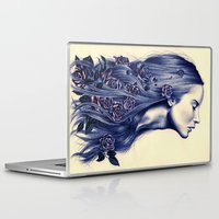 lost Laptop & iPad Skins featuring Bloom by KatePowellArt