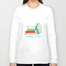 Jahmi & Whimsy: Absolutely Adorable! Long Sleeve T-shirt