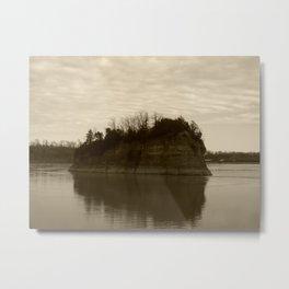mysterious island Metal Print