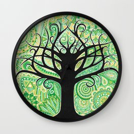 Tree of life ! Wall Clock
