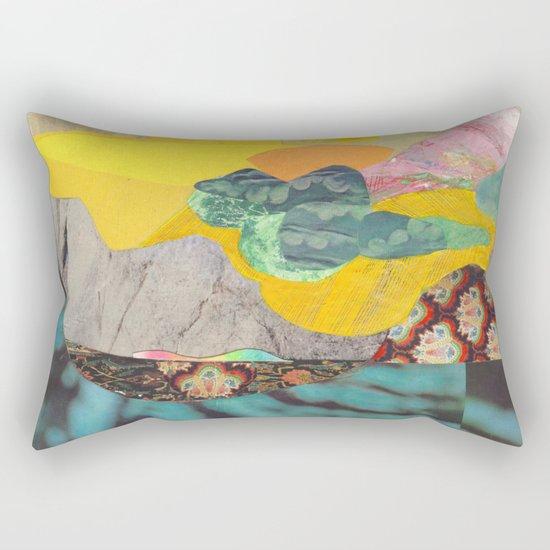Yellow Sky Rectangular Pillow