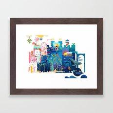 Royals (Sea) Framed Art Print