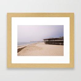 Somewhere in California Framed Art Print