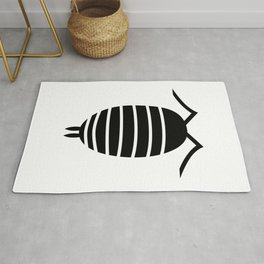 Bugs: abstract Isopod Rug