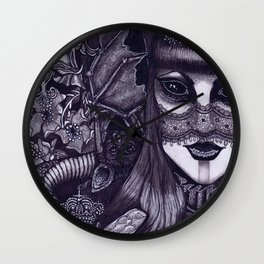 Nightshade Wall Clock