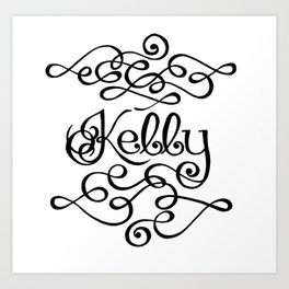 Kelly Art Print