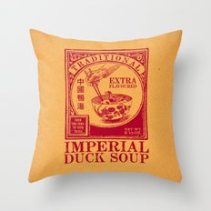 Imperial Duck Soup Throw Pillow