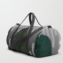 Feathers at dusk Duffle Bag
